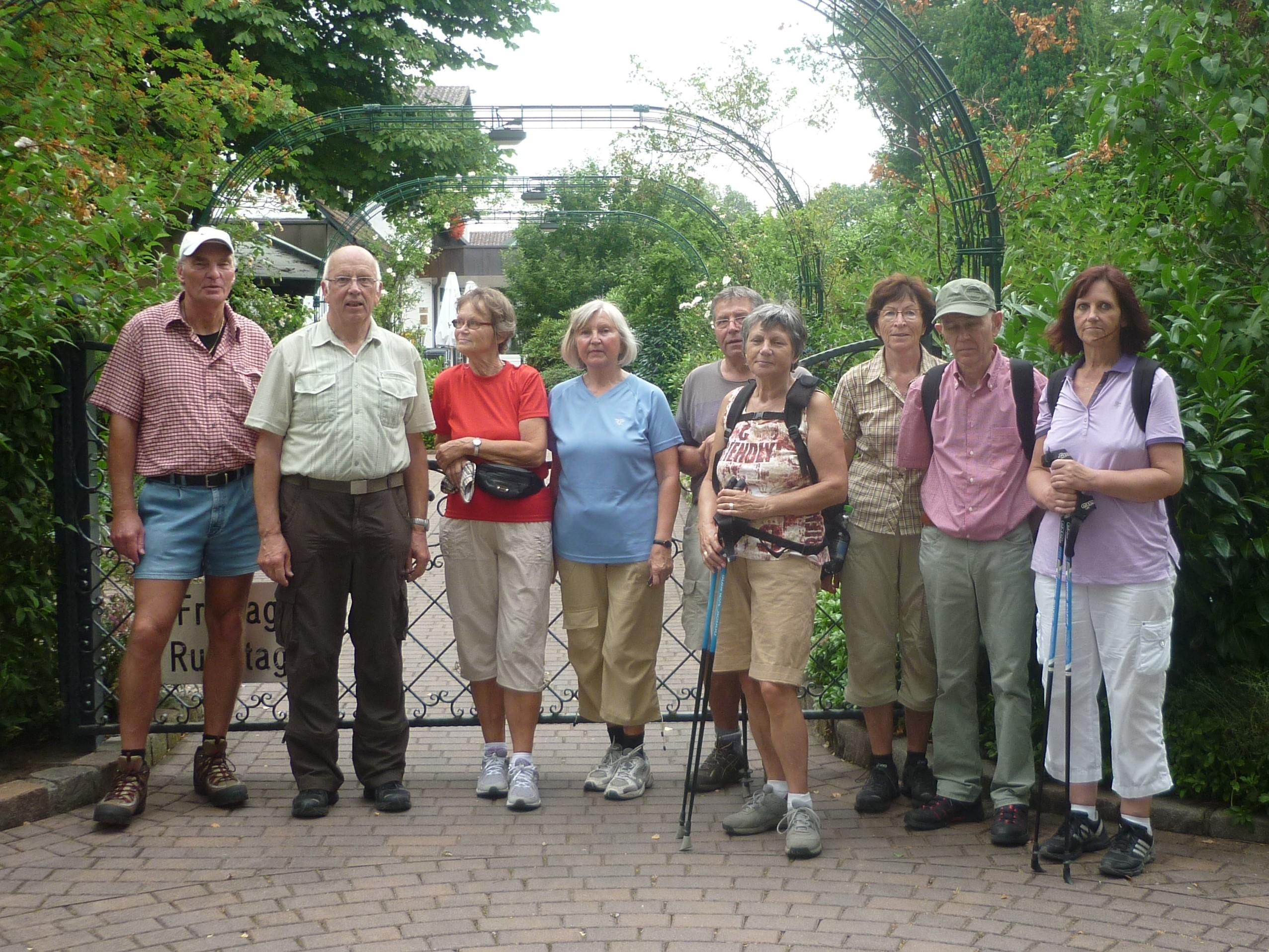 64 Senioren Wandern Im Oktober 2016